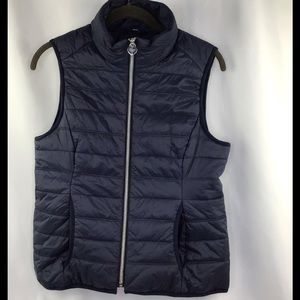 Guess Women's Small Outdoor Vest Black